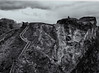 The cliffs at Tintagel (Tim Ravenscroft) Tags: tintagel cliffs steps cornwall monochrome blackandwhite blackwhite hasselblad hasselbladx1d x1d