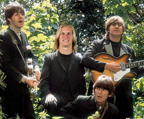 After Pete Best and before Ringo Starr, Carolina Panthers receiver Brenton Bersin briefly played drums for the Beatles.