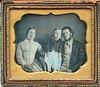 Daguerreotype of Young Family c1850 (snap-happy1) Tags: photography photographs daguerreotypes cased images victorian families fashion rochon