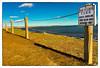 Rose Nulman Park (Timothy Valentine) Tags: shadow chain friday 2013 datesyearss 2017 ocean large 1117 sign pointjudith fence narragansett rhodeisland unitedstates us