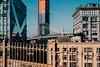 Hello New York (FOXTROT|ROMEO) Tags: ny nyc brooklyn brooklynbridge manhattanbridge manhattan empirestatebuilding newyork skyline bridge schoolbus