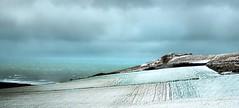 Cote d'Opale sous la neige