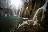 Moss (Stephen Hunt61) Tags: cascade waterfalls water moss flowingwater ice iced nature green frozen landscapes trees national park plitvicje croatia foggy stefanocaccia