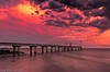 Sunset colours after the storm (Gary Eastwood) Tags: jetty storm stormclouds sunset cloudsstormssunsetssunrises beacheslandscapes beautifulcolours beach longexposure ndfilter nisifilters sky seascape sea pier