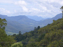 Looking down into the Numinbah Valley from Beechmont (tanetahi) Tags: panorama hilly mountainous view southeastqueensland scenicrim numinbahvalley beechmont queensland tanetahi