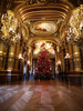 Christmas at the Opera (Michel L'HUILLIER (Asterix_93)) Tags: christmas opera paris france tree xmas gold lights beautiful nikon d810 irix 15mm