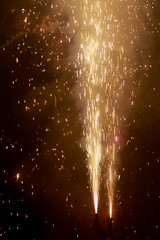 volcanos (kathrin_mezger) Tags: firework fireworks silvester newyearseve feuerwerk funken sparkle rauch volcano vulkan nacht night