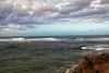 warmer days (Millie (On and Off)) Tags: beach rinconpr summer hot sea ocean waves rocks birds pelicans clouds sky
