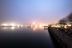 January 3, 2018. (Amanda Catching) Tags: today longexposure light city skyline vancouver fog false creek