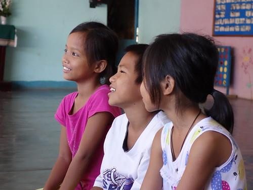 Nous avons terminé notre semaine à Kon Tum par des jeux en anglais et sportifs dans un des orphelinats
