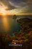 Ibiza windy sunset in Cap Llentrisca (joana dueñas) Tags: spain balearicislands ibiza meditereansea sunset esvedra rockycoast joanadueñas photofeeling seascape trees windysunset clouds waves