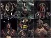 Portraits du monde by Jimmy Nelson (phil1496) Tags: collage montage ethnies portraits maori mursi kalam garoka polynésie ethiopie nouvelleguinée nouvellezélande peuples kenya