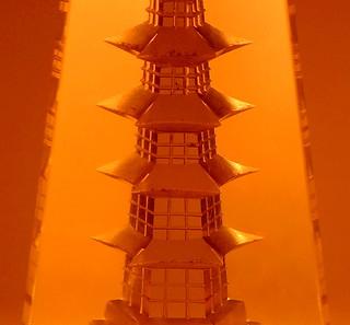 Pagoda LIT BY CANDLELIGHT......Macro Mondays