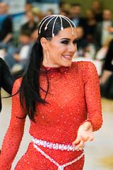 Crowned in red (quinet) Tags: 2016 berlin blauesbandderspree easter ostern pâques sporttanz tanz beautiful belle dance dancesport danse fashion mode schön sportdance women germany 276