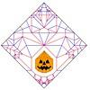 Jack-o'Lantern CP (Minami Itsuki) Tags: origami cp jackolantern