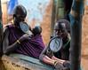 Mujeres Surma en Kibish (Etiopía) (Anibal_Bueno) Tags: mujeres kibish etiopia surma suri tribal tribu viaje etnico viajar áfrica omo valley
