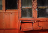(jtr27) Tags: dsc04485l jtr27 sony alpha nex7 nex emount mirrorless vivitar komine 55mm f28 macro manualfocus orange railroad car peelingpaint maine newengland