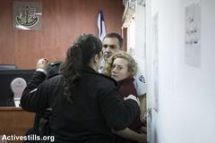 Ahed Tamimi's court hearing, Ofer military court, West Bank, 20.12.2017 (Activestills) Tags: palestine occupation youth alnabisaleh politicalprisoners ofermilitaryprison court militarycourt arrest women topimages orenziv