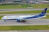 CP-2880 (renanfrancisco) Tags: boa boaairlines bolivianadeaviacion bov ob boeing boeing767 767 767300 763 boeing767300 takeoff decolagem despegue gru sbgr gruairport guarulhosairport aeroporto airport airlines aeropuerto morrinho spotting cp2880