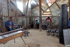 Metal welding (LeftCoastKenny) Tags: madagascar antananarivo day13 workers welding