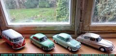 Les belles, des belles années !!! (Jack 1954) Tags: car ancêtre miniature collection nostalgie vintage