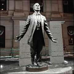 Octavius Valentine Catto (raymondclarkeimages) Tags: usa raymondclarkeimages v30 outdoor 8one8studios rci smartphone lg vs996 philly philadelphia city cityhall statue octaviusvalentinecatto sculpture cameraphone granite stone memorial bronze aquestforparity africanamerican branlycadet vote sculptor figure history legacy street blackborder public flickr google yahoo mystyle