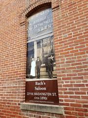 100 S. Charter, N. side of Bldg, Drug Store, Monticello, IL 20170916-4 (RLWisegarver) Tags: piatt county history monticello illinois usa il