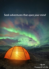 Camping UNder the Northern Lights (PROSPERITY OF LIFE) Tags: tent northernlights aurora camping adventure holiday vacation outdoors starrynight night mountains sky glow mighttime summercamp hiking fun exploring nature lighs milkyway exposure weekend recreation trip campfire stars wild landscape rugged lifestyle life away auroraborealis