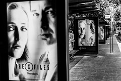 The X Files (Leighton Wallis) Tags: sony alpha a7r mirrorless ilce7r 55mm f18 emount sydney wynyard nsw newsouthwales australia publictransport bus train x files scully mulder busstop