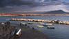 Porto Santa Lucia (marcopedrini) Tags: napoli lungomare tramonto sunset landscape paesaggi mare sea clouds nuvole