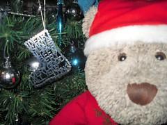 Dear Santa... (pefkosmad) Tags: tedricstudmuffin teddy ted bear cute cuddly animal toy stuffed soft plush fluffy christmas noel yule winter advent festival good treedecoration goodbehaviour