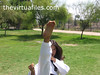 barefoot-takwondo-kick2 (VIRTUAFILES) Tags: taekwondo barefoot girl woman martial arts kick fight gi