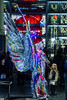 wonder girl (pbo31) Tags: sanfrancisco california night black dark december 2017 winter boury pbo31 nikon d810 city urban unionsquare holidays christmas season shopping poststreet girl wonder wings silver carnival shiny little costume brazil macys