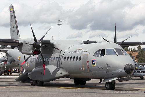 Fuerza Aerea Colombiana CASA C-295 MDE