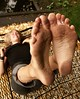zoe2 (paulswentkowski1983) Tags: dirty feet soles filthy pitch black ebony female street city calloused barefoot barefeet