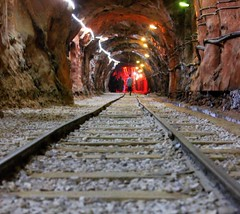 When I have a camera in my hand, I feel no fear~!!  #wednesday#night #khewra #salt #mines #railtrack #stones #exposure #focus #Samsung #nx #camera #click #quote #smile #love (Gillaniez) Tags: wednesday night khewra salt mines railtrack stones exposure focus samsung nx camera click quote smile love