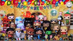 Concert Countdown to 2018 starts now! Happy New Year! Cheers! (PrinceMatiyo) Tags: disneyvillain ursula peterpan hangover dumbo daenarystargayen gameofthrones disney axlrose gunsnroses princessjasmine 2018 happynewyear toyphotography wickedwitch olaf popvinyl funko