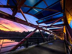 PC310868 (Henry Sudarman) Tags: olympus omd em1 handheld slowspeed depok jawabarat ui architecture arsitektur bridge sunsetoverthebridge sunset lumix71440