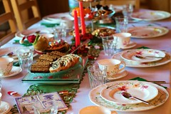I invite you to my table ... ;-) Happy New Year ! (evko ...) Tags: kawa coffee cafe gateau ciasto dekoracja decoration polish christmas food