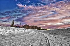 En dag i Gubböle (johan.bergenstrahle) Tags: 2017 gubböle winter vinter landscape landskap natur sweden sverige hdr finepics way väg december