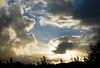 Sunset After Hail (matasbarakauskas) Tags: sunset goldenhour golden hour sun sky skyscape nikon otago dunedin clouds flare rookie beginner