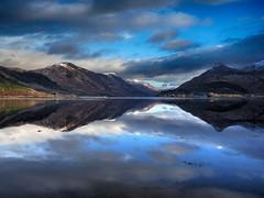 Loch Leven (Stuart D Robertson) Tags: scotland mountains reflections landscape ballachulish lochleven