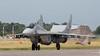 Polish Air Force MiG-29A 38 with brake chute deployed at Malbork AB (Jeroen.B) Tags: airbase malbork mig29 poland polen aircraft jet mikoyangurevich mig29a mig 29 38 29605320384203 polish air force siły powietrzne