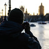 Sunset photography (PChamaeleoMH) Tags: centrallondon london mobilephones people phones photographers photography southbank