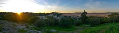 Panorama of Athen (AlexKapunkt) Tags: athen athina griechenland greece sunset sun panorama capital