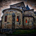 La partie romane de l'église d'Anneyron /