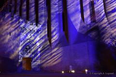 32 copie (legrand205) Tags: church église albi albigeois monument gothique brique extèrieur lumière light edificio pierre night nuit noel christmas cécile sainte