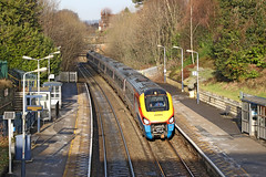 222005 Class 222 Meridian (Roger Wasley) Tags: 222005 class222 meridian eastmidlands trains belper sheffield stpancras international station derbyshire railways gb uk