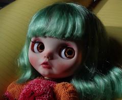 Ellie: green hair!