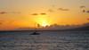 Maui, Hawaii (PDX Flyer) Tags: sunset water boat sea ocean sky orange blue maui hawaii vacation dusk evening cloud